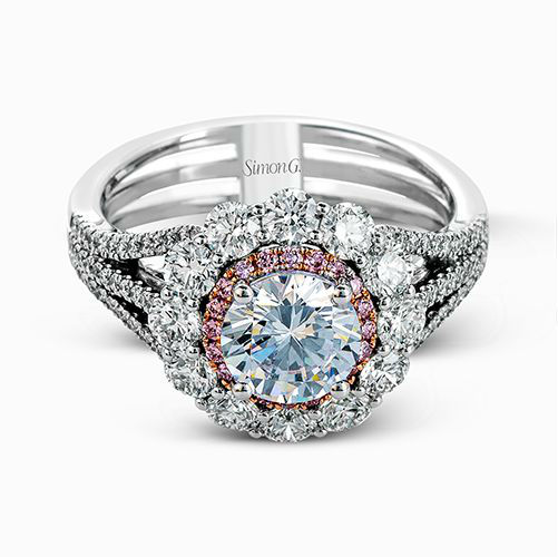 MR2617 Simon G. Semi Mount Engagement Ring | J. Lewis Jewelry ...