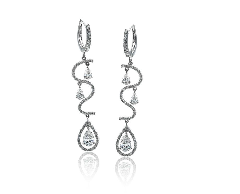 LP4294 Simon G. Earrings   J. Lewis Jewelry   Custom and ...