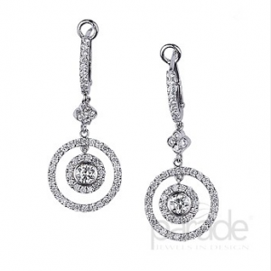 Parade Diamond Drop Earrings E1325A